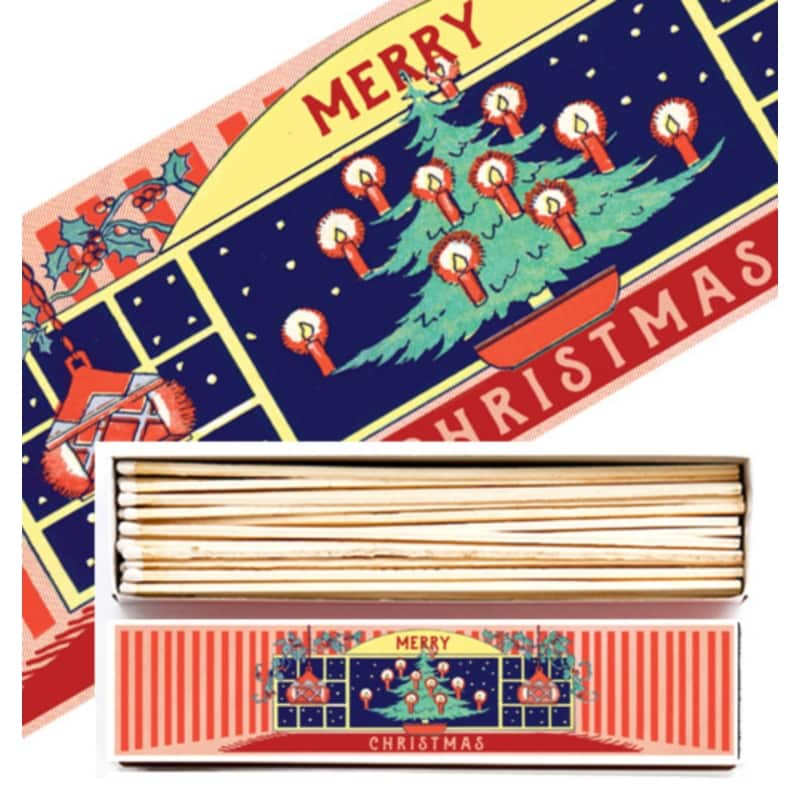 VERY LONG LUXURY MATCHBOXES sirky Xmas Home