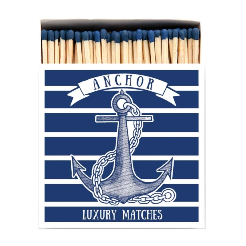 LUXURY MATCHBOXES sirky Anchor
