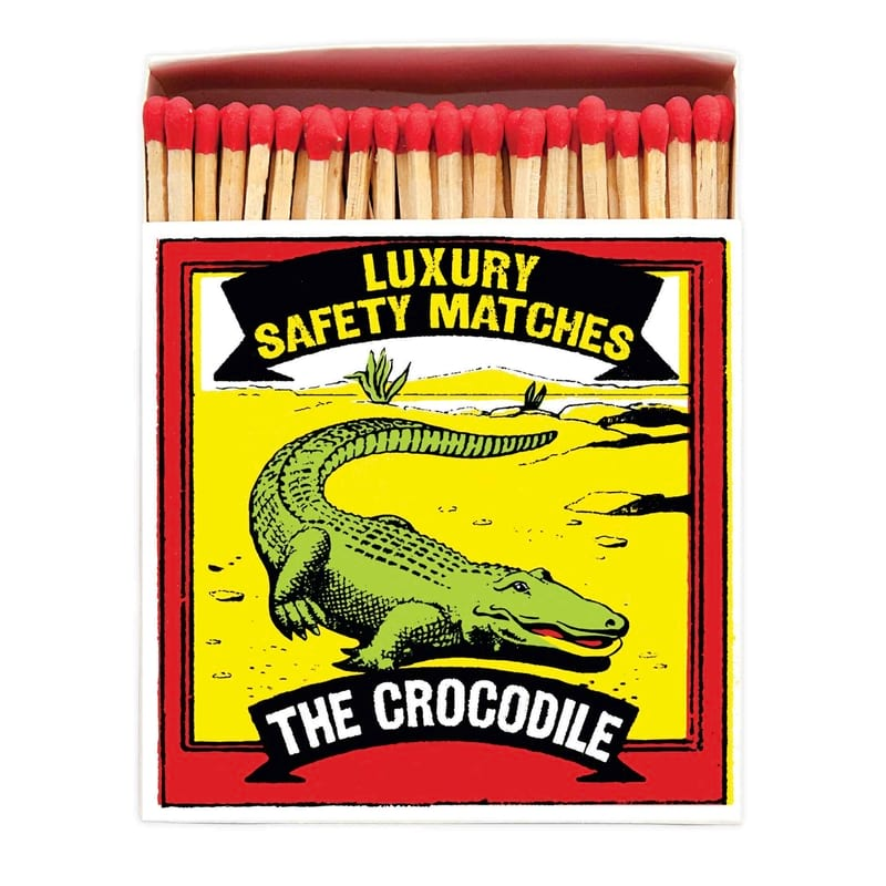 LUXURY MATCHBOXES sirky The Crocodile