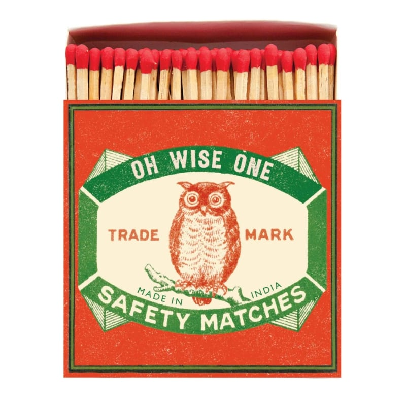 LUXURY MATCHBOXES sirky Owl