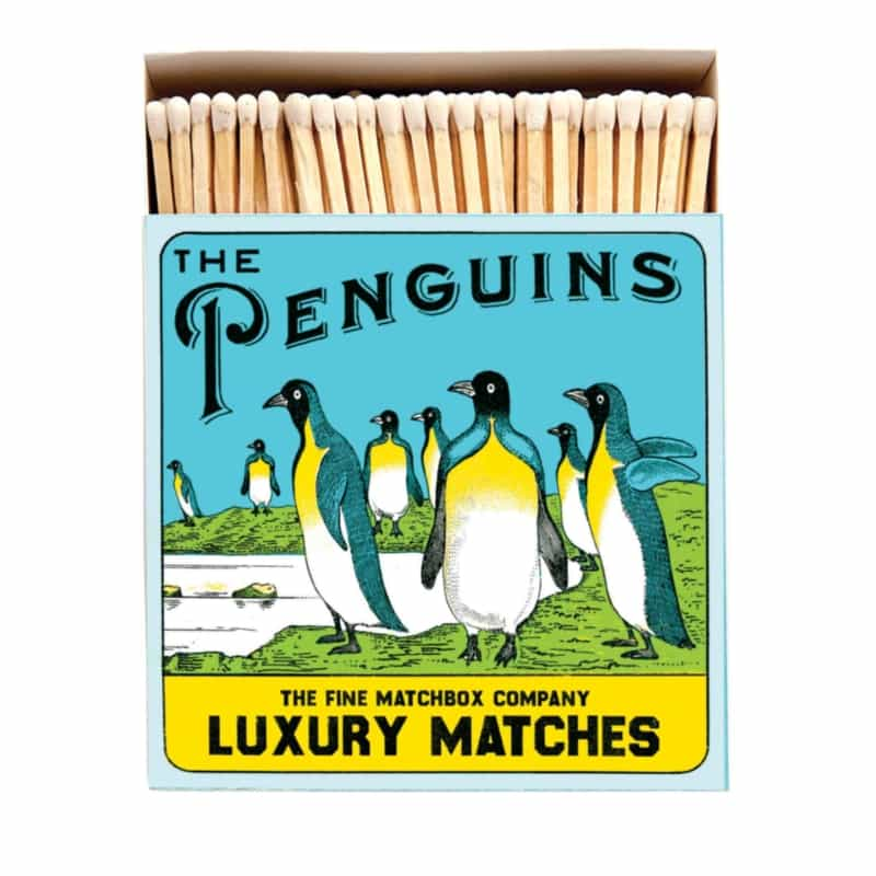 LUXURY MATCHBOXES sirky The Penguins