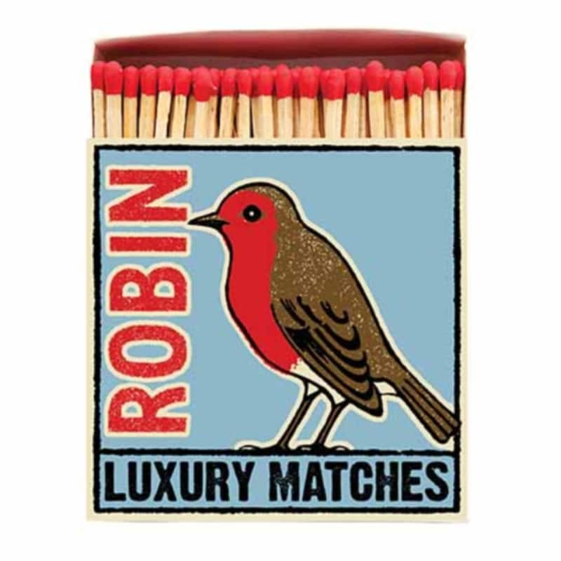 LUXURY MATCHBOXES sirky The Robin