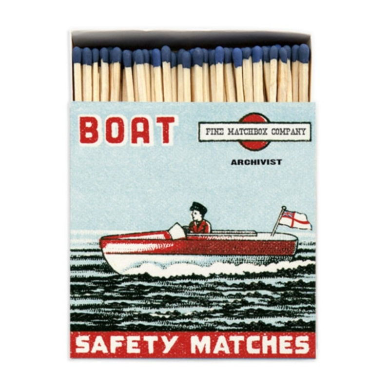 LUXURY MATCHBOXES sirky Boat