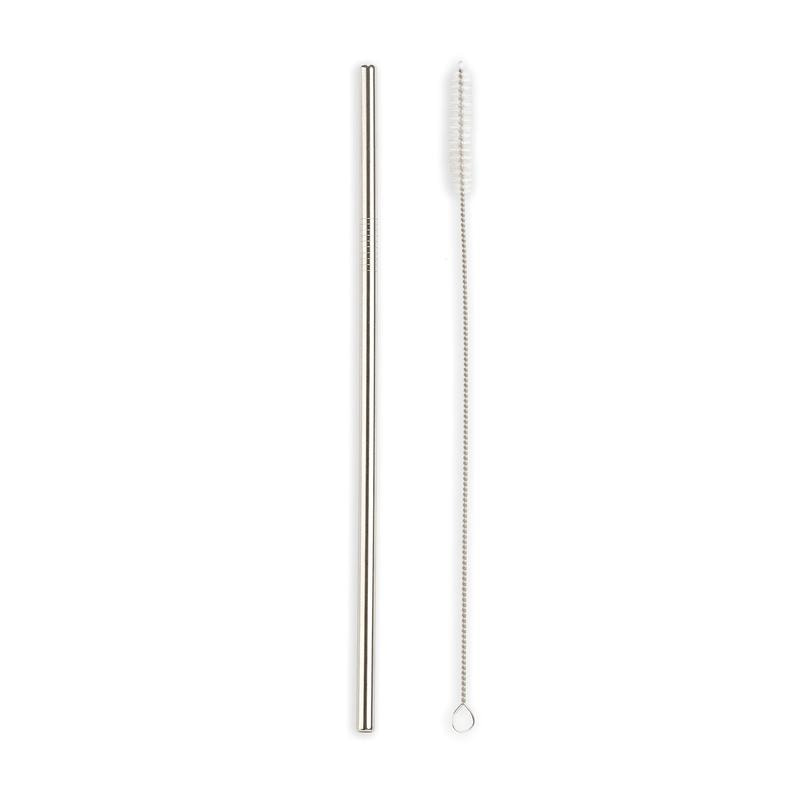 STEEL STRAWS set 10ks nerezových brček