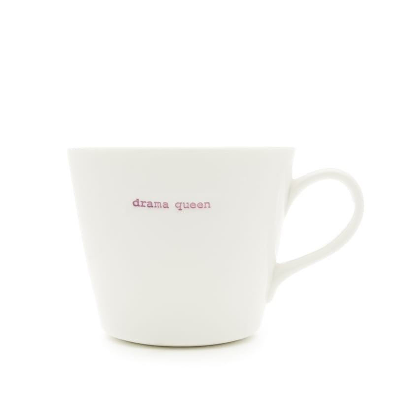 DRAMA QUEEN porcelánový šálek 350ml